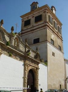 Portada y torre mirador